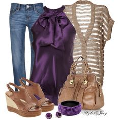 Halter in Purple, created by stylesbyjoey on Polyvore