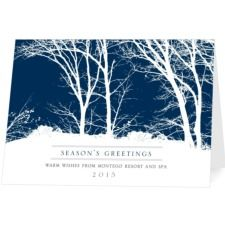 Lakeside shimmer christmas card h58820 winter holiday cards wonderful woods business holiday cards reheart Gallery