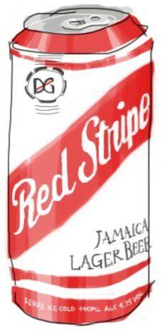 Red Stripe Lager Beer