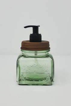 Summer Decor Rustic Farmhouse Kitchen Soap Dispenser - A Rustic Feeling How Pool Cleaning Robots Can Kitchen Soap Dispenser, Mason Jar Soap Dispenser, Rustic Candle Holders, Rustic Candles, Farmhouse Kitchen Decor, Rustic Farmhouse, Rustic Nursery Decor, Christmas Scents, Barn Wood Signs