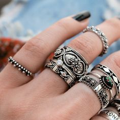 |༓་✣༓་✣༓་| Lover's Temple - this wide band Gothic Romance Ring is a beautiful edition above any engagement ring! |༓་✣༓་✣༓་| Shop ⇢⇢ www.shopdixi.com // shop dixi // boho // bohemian // gothic // grunge // witchy // witchy // boho jewels // boho chic // bohemian jewellery // bohemian jewelry // silver rings // sterling silver // gypsy jewels // rings // stacking rings // moon child // dark // mystic