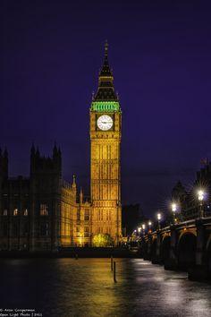 Big Ben, London, England   by Aron Cooperman