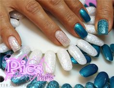 Gel Glitter Pics Nails, per mani estremamente luminose e un finish professionale e duraturo!