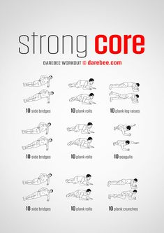 Fitness Workouts, Darbee Workout, Boxing Training Workout, Best Core Workouts, Gym Workouts For Men, Monday Workout, Plank Workout, Dumbbell Workout, Workout Guide