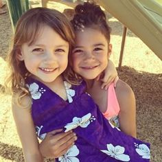 Maya le Clark and Scarlett estevez