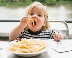 Fatty foods - Kids nutrition - Healthy kids
