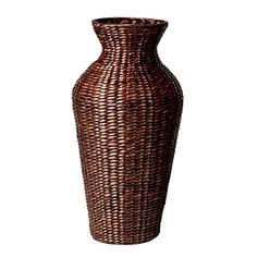African Floor Vase I'm thinking one of these would look great with a bunch of twig/branch lights in the corner by stairs Colonial, Floor Vases, African, House Design, Lights, Housewife, Stairs, Corner, Lounge
