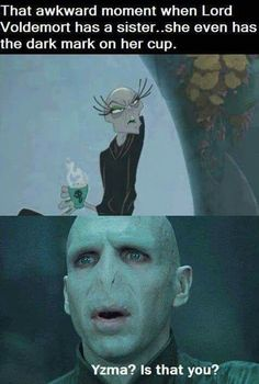 CONFIRMED: YZMA AND VOLDEMORT ARE RELATED