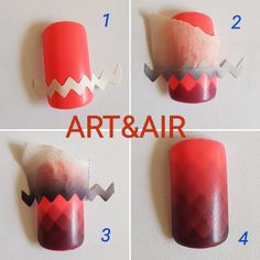 Advent Kostenlose Weihnachtsbaum Vorlage Acne Cures and Myths Unfortunately, few find it, but this i Nails & Co, Diy Nails, Manicure, Airbrush Nail Art, Airbrush Designs, Painted Nail Art, Almond Nails, Cool Nail Designs, Nail Tutorials