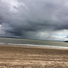 Sunshine and showers at #barryisland #wales #sky #weather #cloudporn