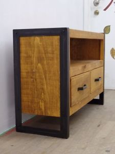 Meuble t l en bois de grange home pinterest for Meuble grange montreal