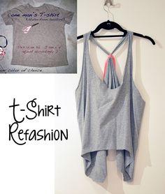 t-shirt to tank refashion by Love maegan