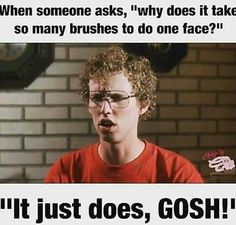 Check out this really hilarious makeup meme collection and share it with every makeup junkie you know! Makeup Jokes, Funny Makeup Memes, Beauty Quotes, Makeup Junkie, Makeup Addict, The Funny, Beauty Makeup, Love Makeup, Makeup Ideas