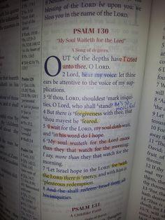 The Talbert Report: Psalm 130