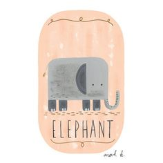 Elephant Nursery ideas by Places & Co.