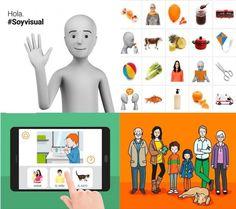 Soyvisual es un nuevo sistema de comunicación aumentativa que incluye fotografías, láminas y diversos materiales gráficos, además de una ap...