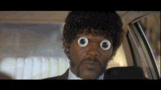 pulp fiction googly eyes samuel l. jackson google eyes  GIF pulp fiction googly eyes samuel l. jackson google eyes diky #DIKY #GIF #Trending #Tumblr #Humor