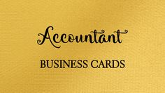 A collection of girly accountant, bookkeeper, and financial adviser business cards just for women.