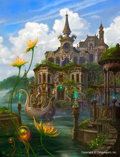 The Art Of Animation, Kazumasa Uchio another fantastical world to escape to whenever I need