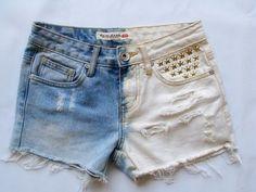 Shorts bicolor