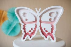 Butterfly Lights Night light Kids lamp Nursery night by Bukvamd