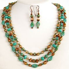 blue jewellery ideas homemade - Google Search