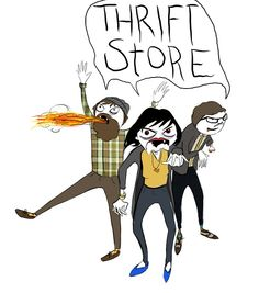 thrift store zombies