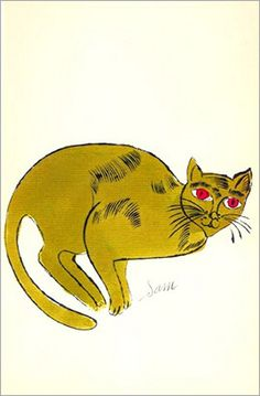 warhol cats More At FOSTERGINGER @ Pinterest