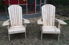 Adirondack Testimonials Diy Garden Furniture, Furniture Plans, Wood Furniture, Woodworking Plans, Woodworking Projects, Tool Storage Cabinets, Adirondack Chair Plans, Outdoor Chairs, Outdoor Decor