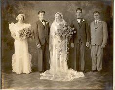 Edward & Mary Kramer's Wedding Photo 1934