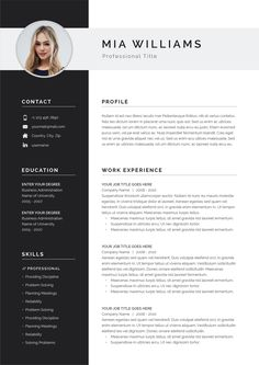 Business Plan Template Discover Resume Template Resume Template Word Resume with Photo Resume with Cover Letter Professional Resume CV Template CV Modern Resume Word Resume Cover Letter Template, Modern Resume Template, Cv Template, Letter Templates, Resume Templates, Basic Resume, Simple Resume, Resume Cv, Professional Resume