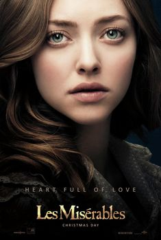 Les Miserables - Amanda Seyfried is Cosette 12.25.12