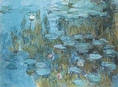 Claude Monet's Water Lilies (1915)
