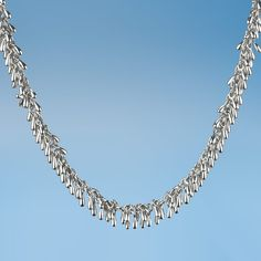 Rain Chain Necklace | Cross Jewelers | Portland, ME