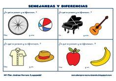 SEMEJANZAS Y DIFERENCIAS¿En qué se parecen y se diferencian…..? ¿En qué se parecen y se diferencian…..?Una ...