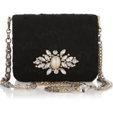 lace embellished leather purse - Google Search
