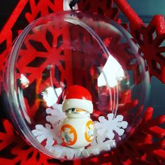LEGO® Star Wars Inspired Minifigure Christmas Tree Baubles