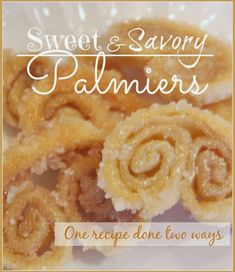 Sweet and Savory Palmiers - StoneGable
