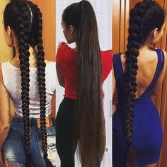Likes, 19 Comments - Sexiest Hair Beautiful Long Hair, Gorgeous Hair, Ulzzang Hair, Long Indian Hair, Long Hair Ponytail, Long Black Hair, Super Long Hair, Aesthetic Hair, Dream Hair