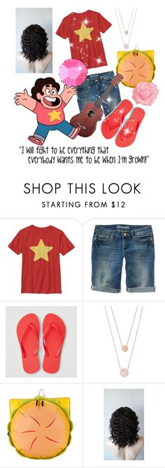 """""""Steven Universe"""" by redwolves87 ❤ liked on Polyvore featuring Aéropostale, American Eagle Outfitters, Michael Kors and Cartoon Network"""
