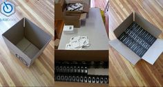 Today is assembly day @getjuiceboxx Empty boxx + Assembly line = boxx full of juice #gettingready for sales