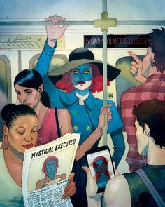 Captain America: Steve Rogers #3 Mystique Death of X variant cover- Kevin Wada