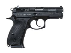 The is a compact, alloy-framed decocker model with light rail. Military Weapons, Weapons Guns, Airsoft Guns, Guns And Ammo, Indoor Shooting Range, Cz 75, Tactical Shotgun, 1911 Pistol, Firearms