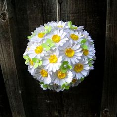 The Daisy Girl   Handmade Paper Flower  set by DragonflyExpression, $20.00
