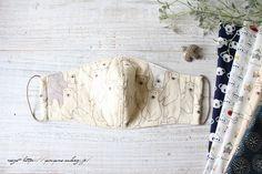 花粉症&乾燥対策に『耳までロングな大人立体マスク』作り方&動画公開(2020追記) : neige+ 手作りのある暮らし Crochet Bikini Pattern, Diy Mask, Diy And Crafts, Sewing Projects, Handmade, Creativity, Mascaras, Dressmaking, Masks