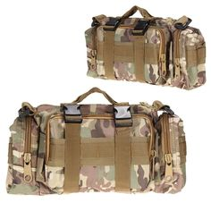 Outdoor Military Tactical Waist Pack 3L Waterproof