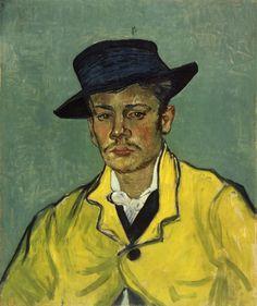 Portrait of Armand Roulin - Vincent van Gogh