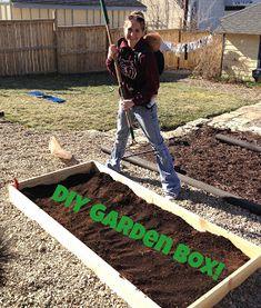 Easy Peasy DIY Garden Box! #DIY #GardenBox #GetAroundGA