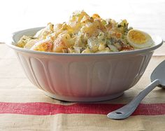 This potato salad is perfect for spring and summer entertaining!