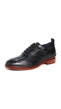 Cole Haan Washington Grand Oxfords In Black Oxford Shoes Heels, Oxfords, Cole Haan, Washington, Dress Shoes, Lace Up, Mens Fashion, Leather, Shopping